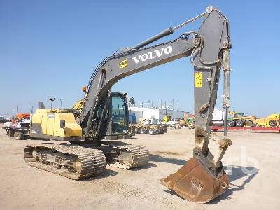 2014 VOLVO EC160DL Hydraulic Excavator Parts/Stationary Construction